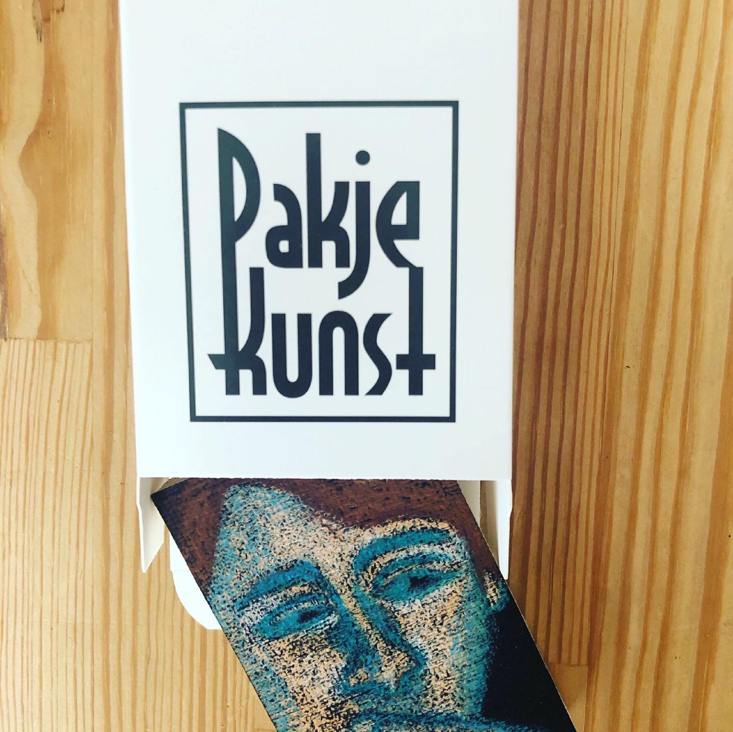 Roebie's kunst te koop via Pakjekunst.